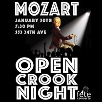 Mozart Open Crook Night